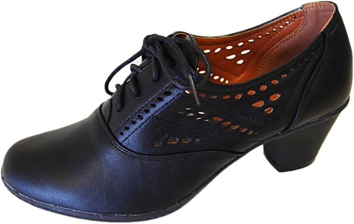 1940s Style Shoes, 40s Shoes Refresh Womens London-01 £38.82 AT vintagedancer.com