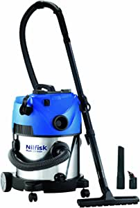 Nilfisk 107402047 Aspiradora en seco y húmedo, 1400 W, 65 Decibelios: Amazon.es: Hogar