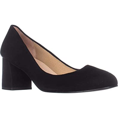 d09cc3d412f49 French Sole Womens Trance Suede Round Toe Classic Pumps