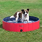 FrontPet Foldable Large Dog Pet Pool Bathing Tub, Kiddie Pool, 50 Inch X 12 Inch