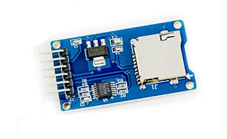 Micro SD MicroSD Breakout tarjeta SPI para arduino Raspberry Pi microcontrolador