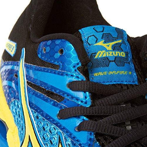 Scarpe da Running Mizuno Wave Inspire 9 Uomo Blu/Giallo/Nero Blu