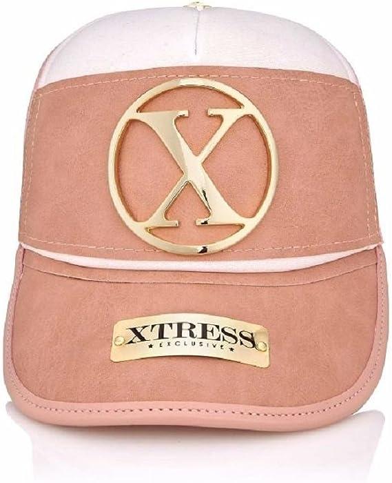 Gorra de diseño rosa y blanca para hombre y mujer.: Amazon.es ...
