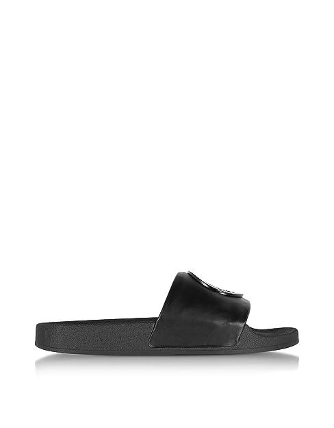 31b5a28f92beea Tory Burch Damen 45518001 Schwarz Leder Sandalen  Amazon.de  Schuhe ...