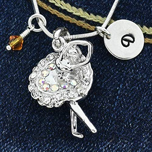 Sparkling Crystal Block Ring Chandelier: Amazon.com: Personalized Ballerina Pendant AB Color