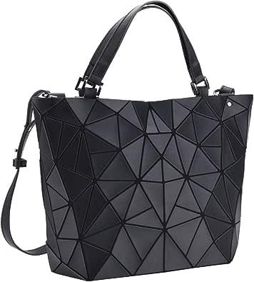 Geometrical Love Big Heart Cotton Canvas Tote Bag