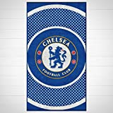 Chelsea Fc 'Bullseye' Football Printed Official Beach Towel Brand New Gift Home Product
