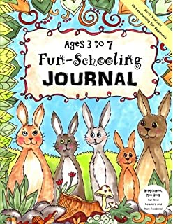 Do it yourself homeschool journal delight directed learning ages 3 to 7 fun schooling journal do it yourself homeschooling for solutioingenieria Image collections