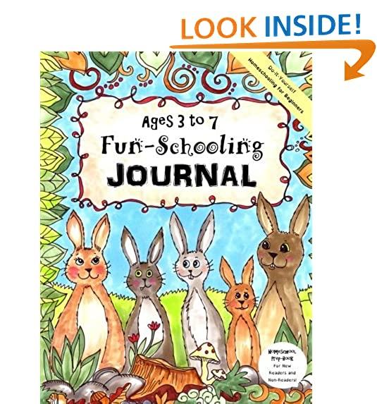 Preschool journal amazon ages 3 to 7 fun schooling journal do it yourself homeschooling for beginners homeschool prep book for new readers and non readers solutioingenieria Image collections