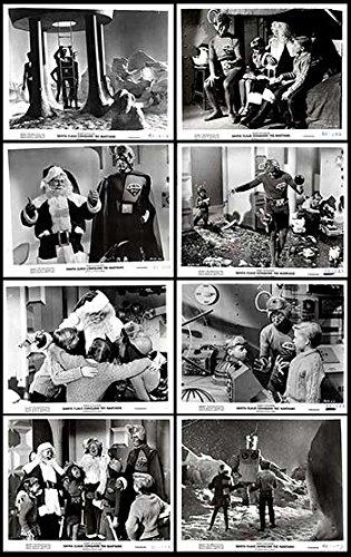 Conquers Martians Movie Poster - Santa Claus Conquers the Martians - Authentic Original 10