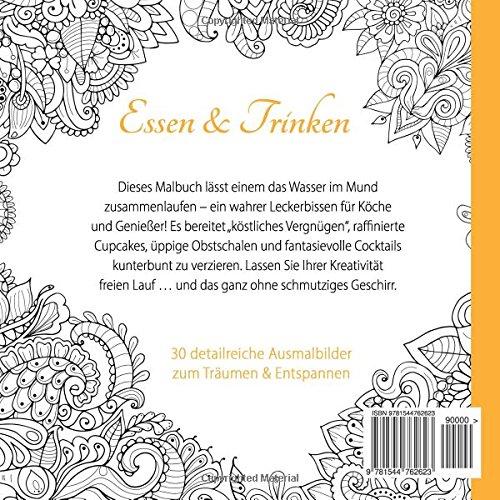 Essen & Trinken (Ausmalen für Erwachsene) (German Edition ...