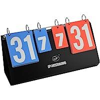 Tableau de bord de Tableau de score de flip de sports de 4 chiffres pour le tennis de table Badminton