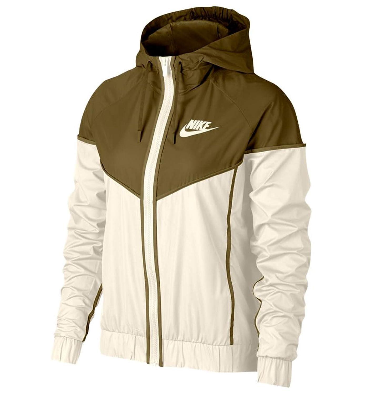 Sail Olive Flak Nike Women's Windrunner Track Jacket