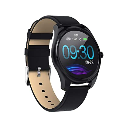 Mintsin Updated 2019 Smart Watch for Android iOS Phone, Activity Fitness Watches Health Exercise Smartwatch with Step Count,Heart Rate, Sleep,Blood ...