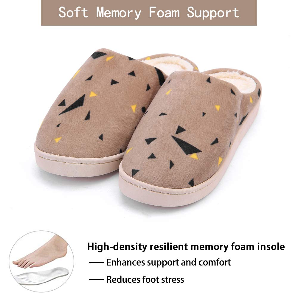 WILLIAM&KATE Home Slippers Ultra Lightweight Indoor Flat Closed Toe Slippers Anti-Slip Slippers Soft Cozy & Washable Shoes by WILLIAM&KATE (Image #4)
