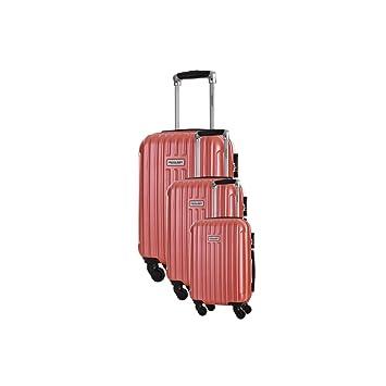 8afee52e1 TravelOne - Juego de maletas Rojo rojo S, M, L: Amazon.es: Equipaje