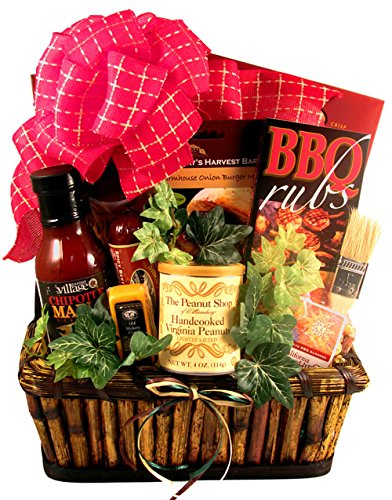 Gift Basket Village The Grill Master, Deluxe - A Grilling Gift Basket For Him - Small, 9 Pound (Baskets Cooking Gift)