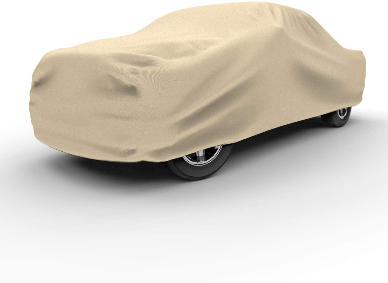 Waterproof 84 inches Dustproof UV Treated 4 Layer Reliable Weather Protection Budge TA-3X Protector IV Truck Cover Tan Size 3X: Extended Cab Max Bed Length 7