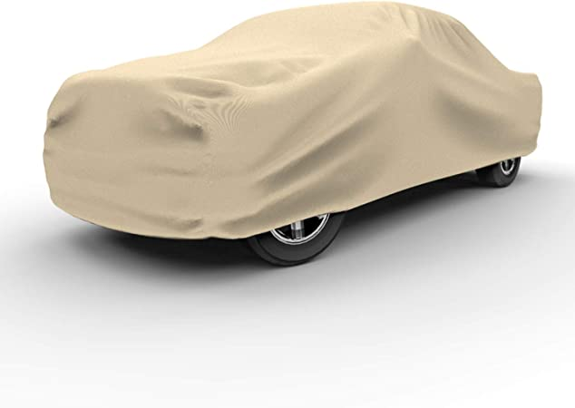 Truck Cover Budge TA-9 Tan Size 9: Full-Size Dually Long Bed Pickup w//Crew Cab 8 96 inches UV Treated Dustproof 4 Layer Reliable Weather Protection Waterproof