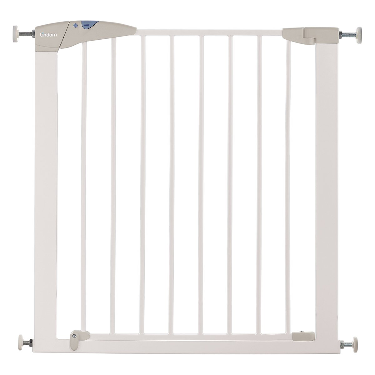 lindam sure shut axis pressure fit safety gate     cm (white  - lindam sure shut axis pressure fit safety gate     cm (white)amazoncouk baby