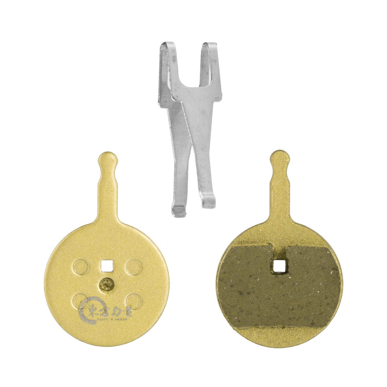 Resina//Semi-Metalliche EASTERN POWER 2 Paia Pastiglie Freni per Avid BB5 e Promax