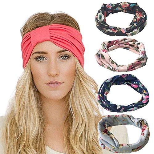DRESHOW Headbands Stretchy Moisture Hairband product image