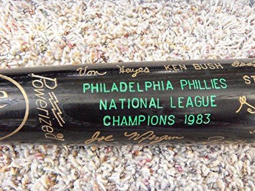 1983 PHILLIES World Series NL Champions Black Bat, Schmidt, Rose,etc.-Exc.cond.