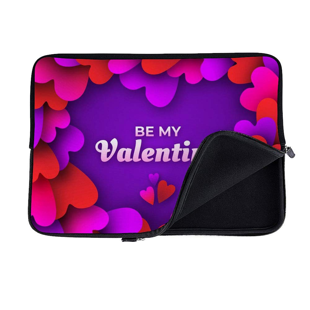 c54936f719f9 Amazon.com: DKISEE Abstract Valentines Day Frame Neoprene Laptop ...
