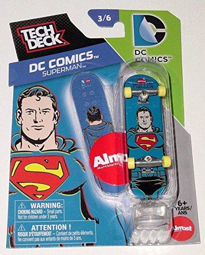 Superman Tech Deck DC Comics 3/6 Almost Skateboards