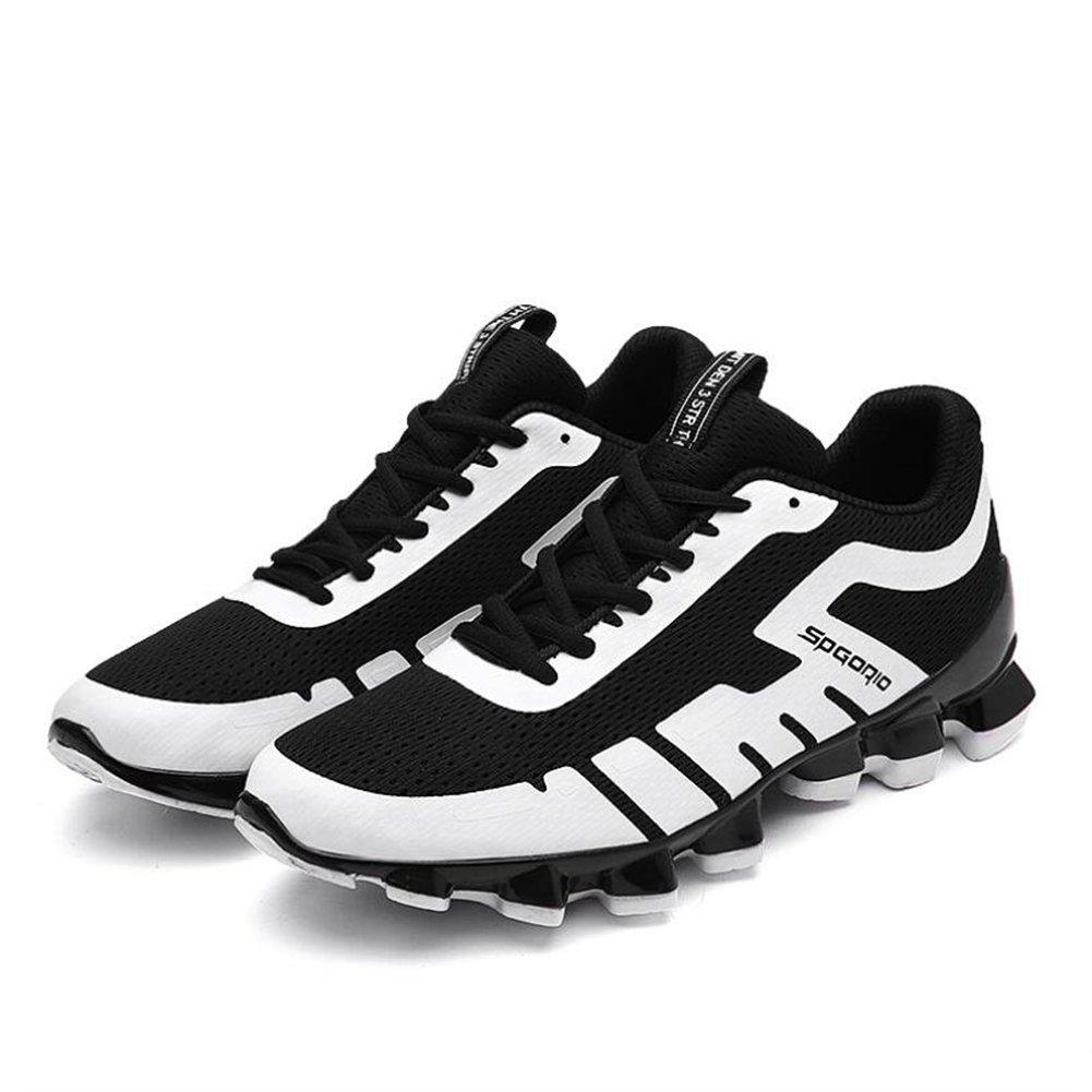 HUAN Zapatos de los Hombres 2018 Zapatos de Primavera y Verano Zapatillas de Deporte Transpirables Antideslizantes Zapatillas de Deporte Al Aire Libre 40 EU D