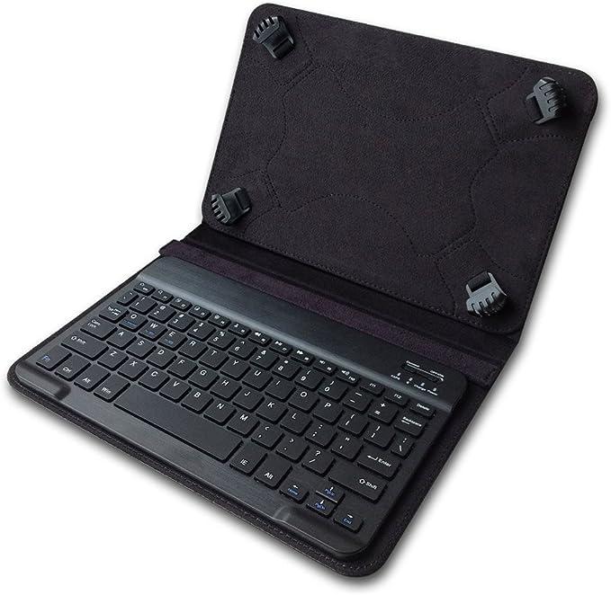 Funda extraíble con teclado Bluetooth para tablet de 7 pulgadas, 7.9 pulgadas, 8.0 pulgadas, para iPad Samsung