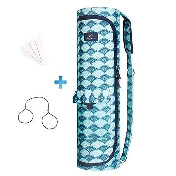 41fd69b9dc hu xiu Sturdy Canvas Yoga Mat Bag - Fashion Exercise Yoga Mat Carry ...