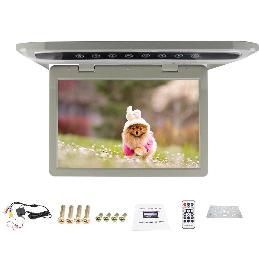 HD 12.1 inch USB SD HDMI FM Car 1080P Car Roof-mount/Flip down/Car Ceiling Wide/Over head Display/Drop Down LCD Monitor Hot Sale