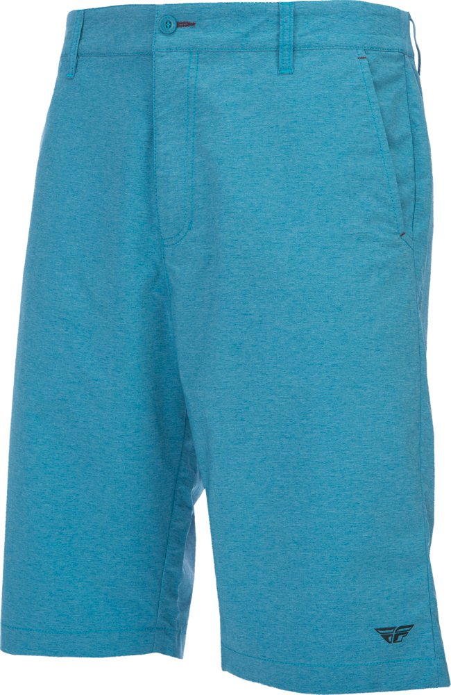 Fly Racing Unisex-Adult Pilot Shorts Blue Size 36