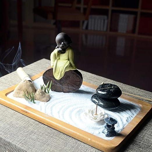 Hjyi Meditación Zen Garden,Jardin Zen Fengshui Elaboradamente Zen ...