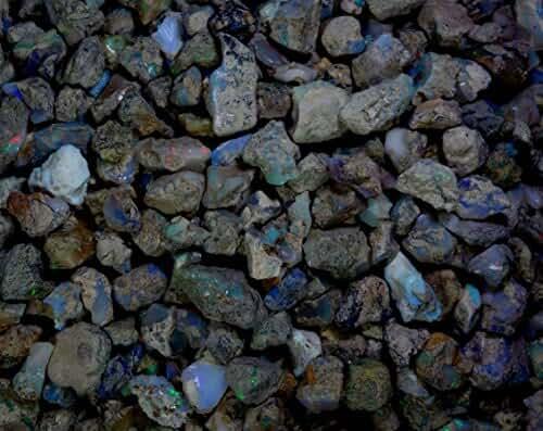 501Cts. Natural Ethiopian Multi Color Opal Rough Wholesale Lot Gemstones