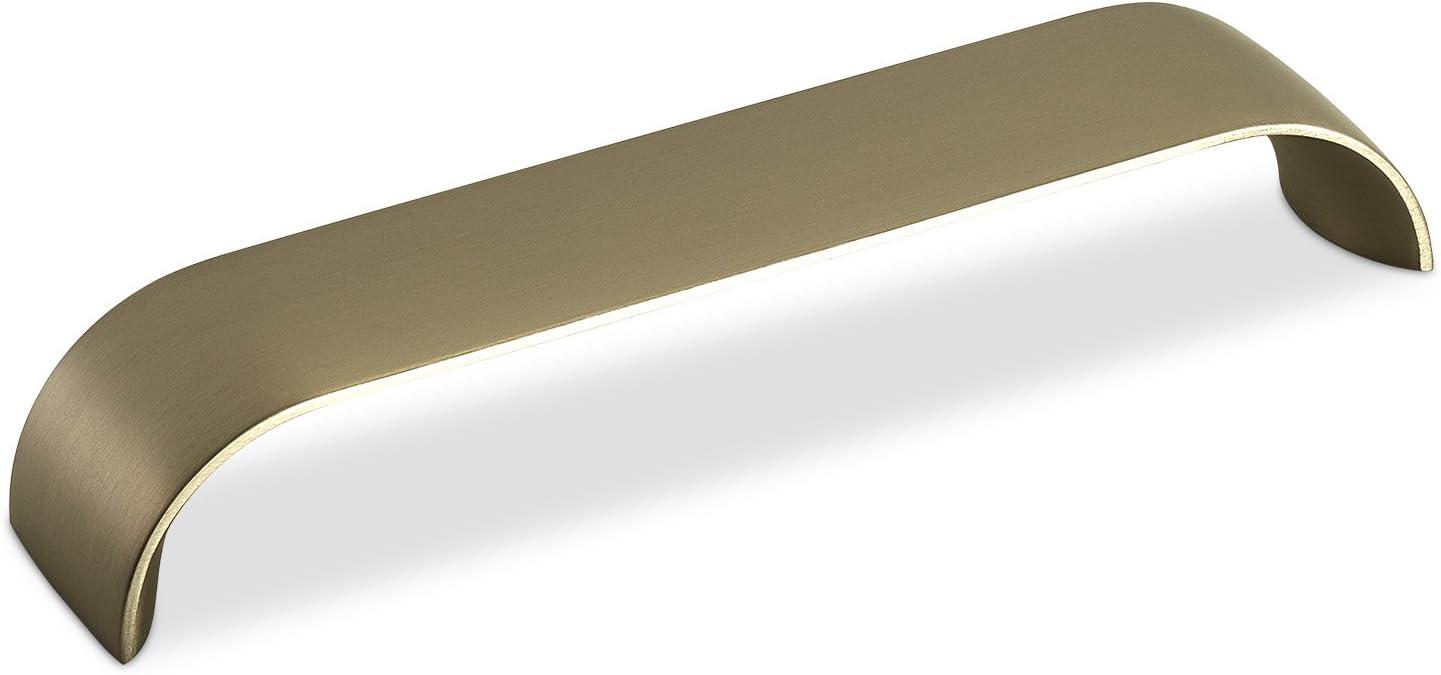 Bügelgriff aus Aluminium schwarz Länge 100mm