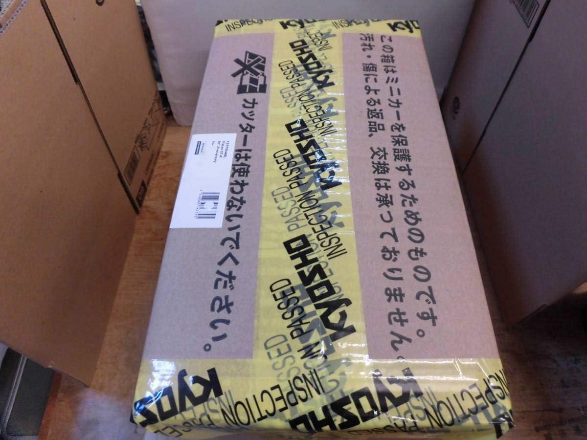京商 日産 GT-R 50周年記念 ブルー SAMURAIシリーズ 118 KSR18044BL KYOSHO R35 ニッサン サムライ ミニカー GOODS