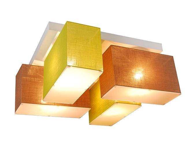 Plafoniere Con Legno : Lampada da soffitto con coperture blejl s brecd in legno