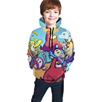 maichengxuan Fall Guys Ultimate Knockout 121 Novelty Youth Hoodie Sweatshirts Fashion para Adolescentes