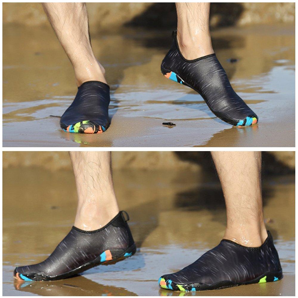 Water Shoes Quick-Dry Aqua Shoes for Men Women Water Aerobics B07BQSXQW4 7 US Women/5 US Men=9.05
