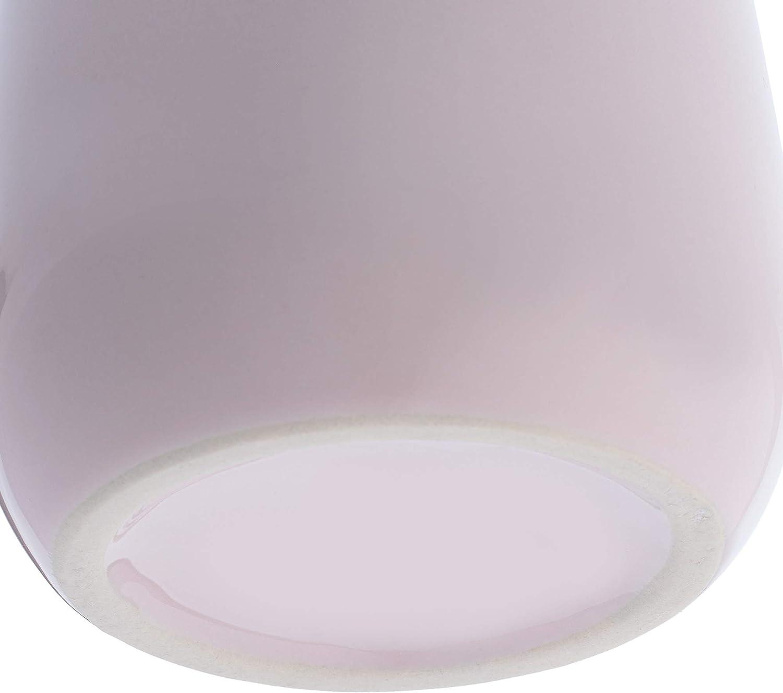 Cepillo de Dientes para Cuarto de ba/ño cer/ámica Vaso para ba/ño Soporte para Cepillo de Dientes Vaso Pasta de Dientes Vaso 9 x 9 x 10 cm KADAX Vaso para cepillos de Dientes Almacenamiento