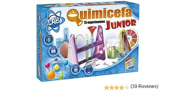 Cefa Toys- Quimicefa Junior (21755): Amazon.es: Juguetes y juegos