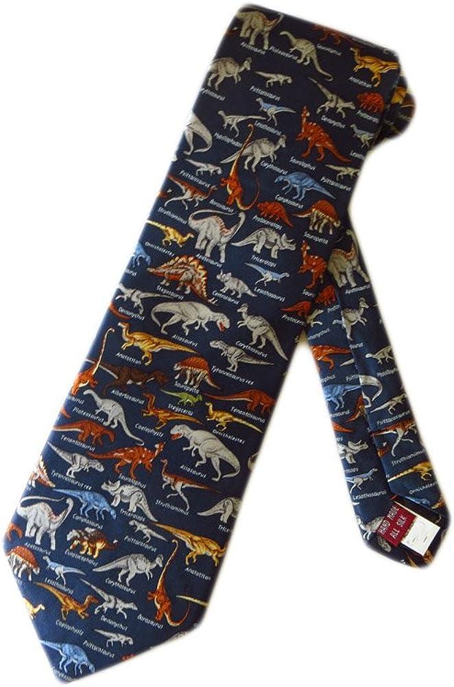 Museum Artifacts - Corbata para hombre, diseño de dinosaurios ...
