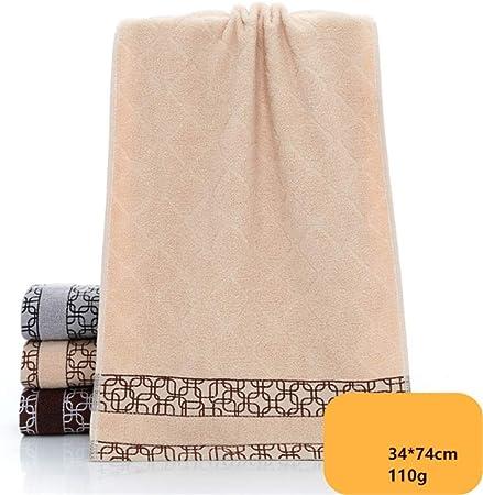 Asciugamano di qualit/à Super Morbido Silenzioso e Altamente Assorbente Asciugamano da Bagno La Bella e la Bestia