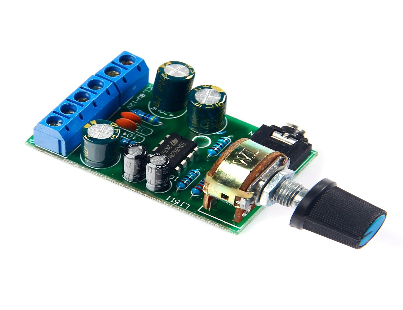 Dc18 12v Tda2822m Amplifier 20 Channel Stereo Aux 1w Headphone Based Tda2822 Audio Amp Board Module Home Theater