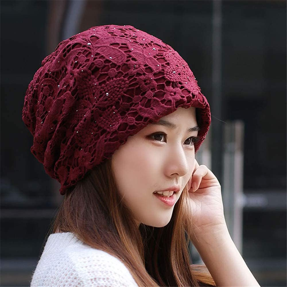 RangYR Sombrero De Mujer Invierno Cachemira Espesado Baotou Cap ...