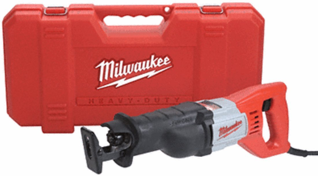 MILWAUKEE ELECTRIC TOOL 6509-31 Milwaukee Sawzall Recip Saw Kit 12 Amp, 22.4 x 11.1 x 22.4