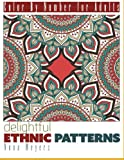 Color By Number For Adults: Ethnic Patterns