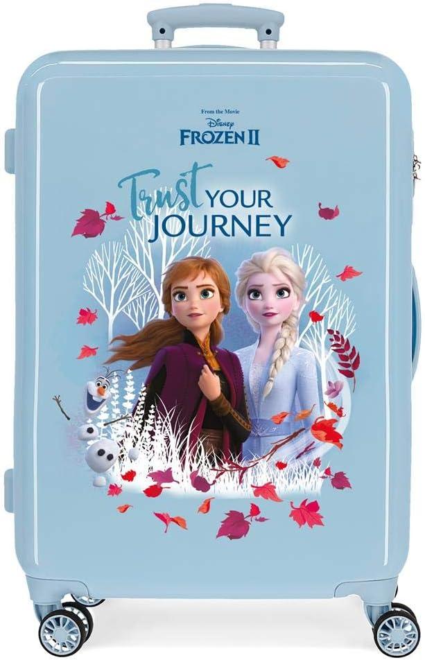 Maleta Mediana Frozen Trust your journey rígida 65cm